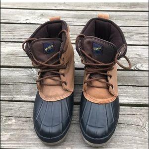 SPORTO Thermolite Leather Upper SteelRain Boots 11